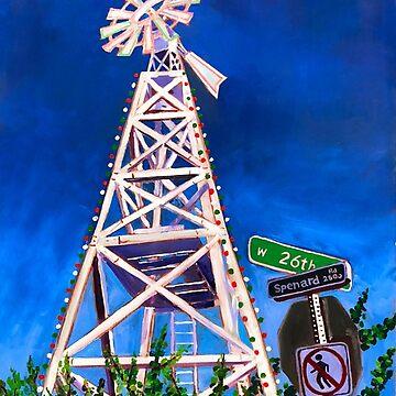 Spenard Windmill in Anchorage, Alaska by realartisbetter