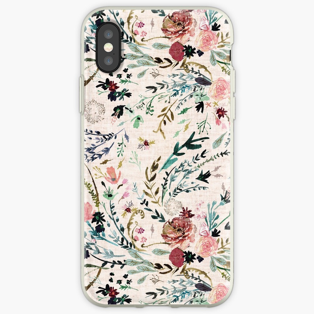 Fabel mit Blumen iPhone-Hülle & Cover
