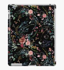 Vinilo o funda para iPad Medianoche floral