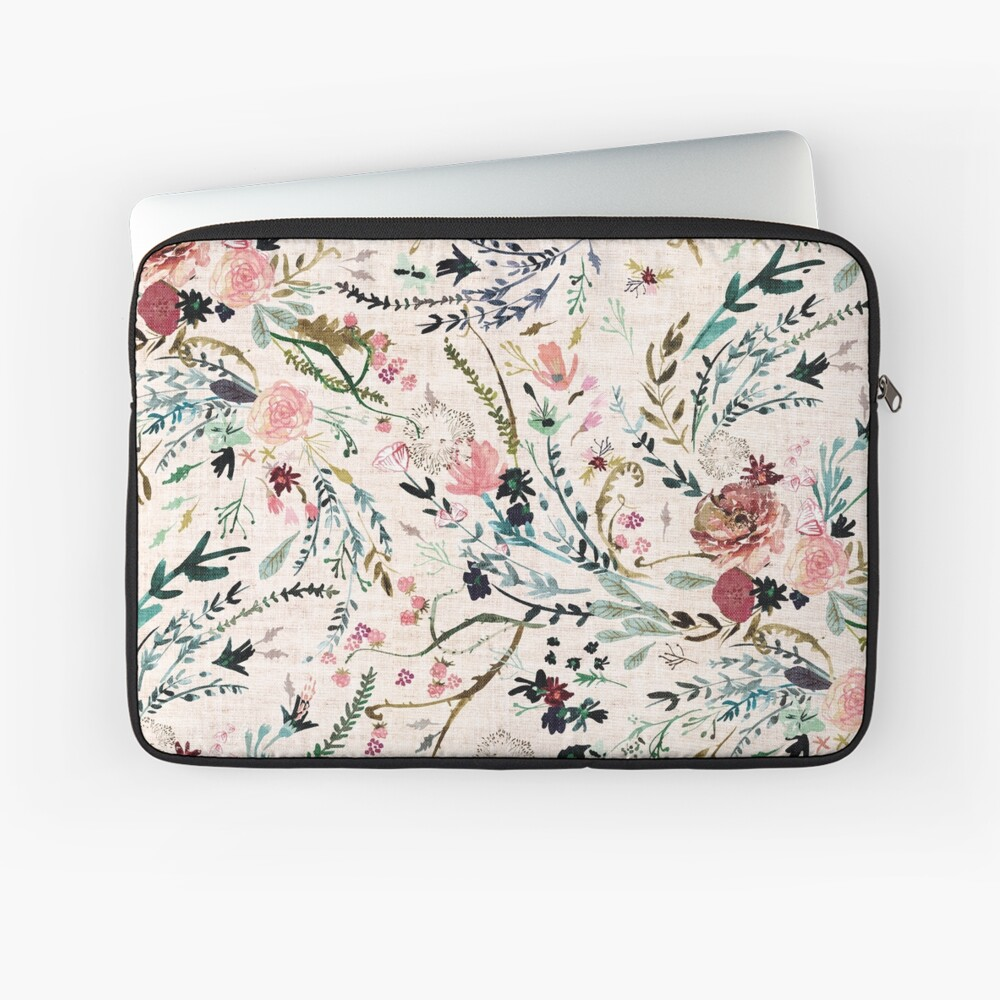 Fable Floral  Laptop Sleeve