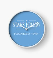 Stars Hollow Founded 1779 Clock