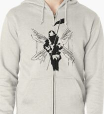 Linkin Park 'Hybrid Theory' Design Zipped Hoodie
