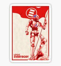 Logic Everybody Poster (High Resolution) Sticker