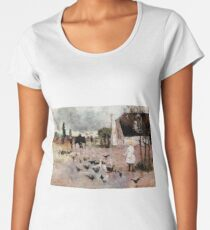 Tea-time by Charles Conder Women's Premium T-Shirt