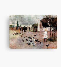 Tea-time by Charles Conder Canvas Print