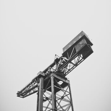 Imposing Docklands Crane by mrdoomits