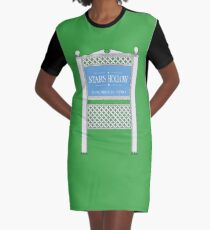 Stars Hollow Sign, Founded 1779 Graphic T-Shirt Dress