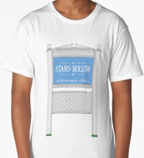 Stars Hollow Sign, Founded 1779 Long T-Shirt