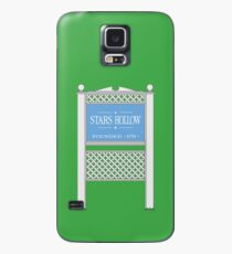 Stars Hollow Sign, Founded 1779 Case/Skin for Samsung Galaxy