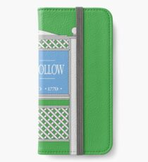 Stars Hollow Sign, Founded 1779 iPhone Wallet/Case/Skin