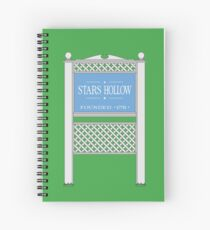 Stars Hollow Sign, Founded 1779 Spiral Notebook