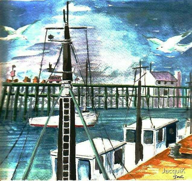 Dockside by JacquiK