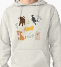Puppies Pullover Hoodie