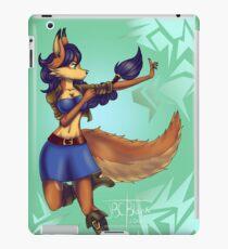 Carmelita fan art | Background iPad Case/Skin