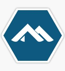 Alpine Linux Sticker
