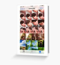 camera roll Greeting Card