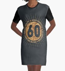HAPPY 60TH BIRTHDAY Graphic T Shirt Dress