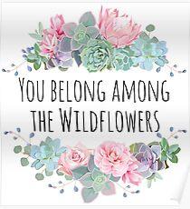 Tom Petty Wildblumen Poster