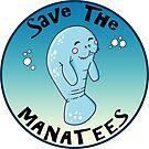 Save The Manatees Sea Cow Florida by MyHandmadeSigns