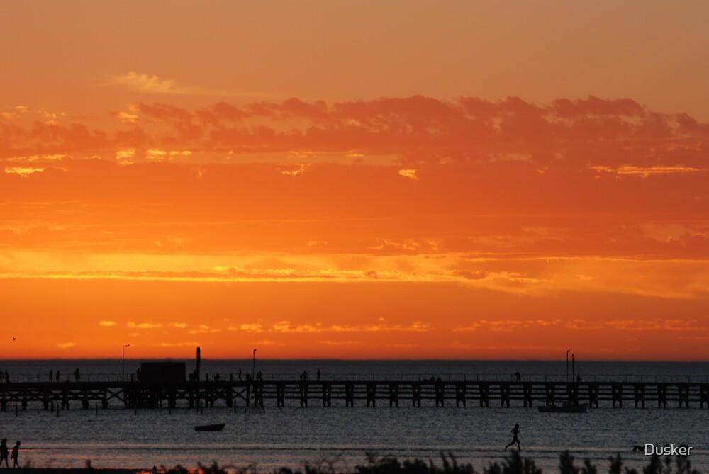 Sunset Moonta South Australia by Dusker