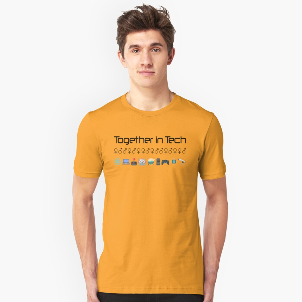 Together in Tech Slim Fit T-Shirt