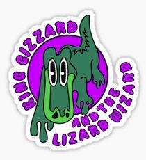 Gizz Gator Purple Sticker