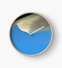 Snowy Overhang Clock