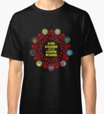 Infinity Nonagon Frühe Kunst Classic T-Shirt