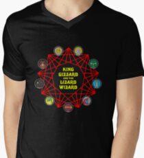 Nonagon Infinity Early Art Men's V-Neck T-Shirt