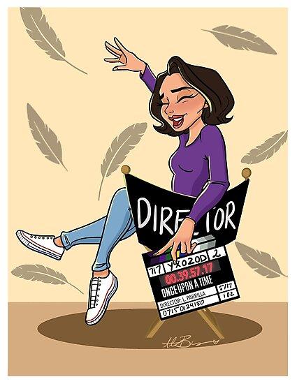 Lana Parrilla - Director by Alexia B