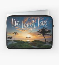 Live Laugh Love - Give Back to Nature Laptop Sleeve