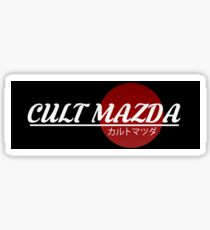 Cult Mazda Sticker