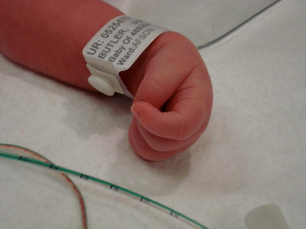 baby hand by rhib62