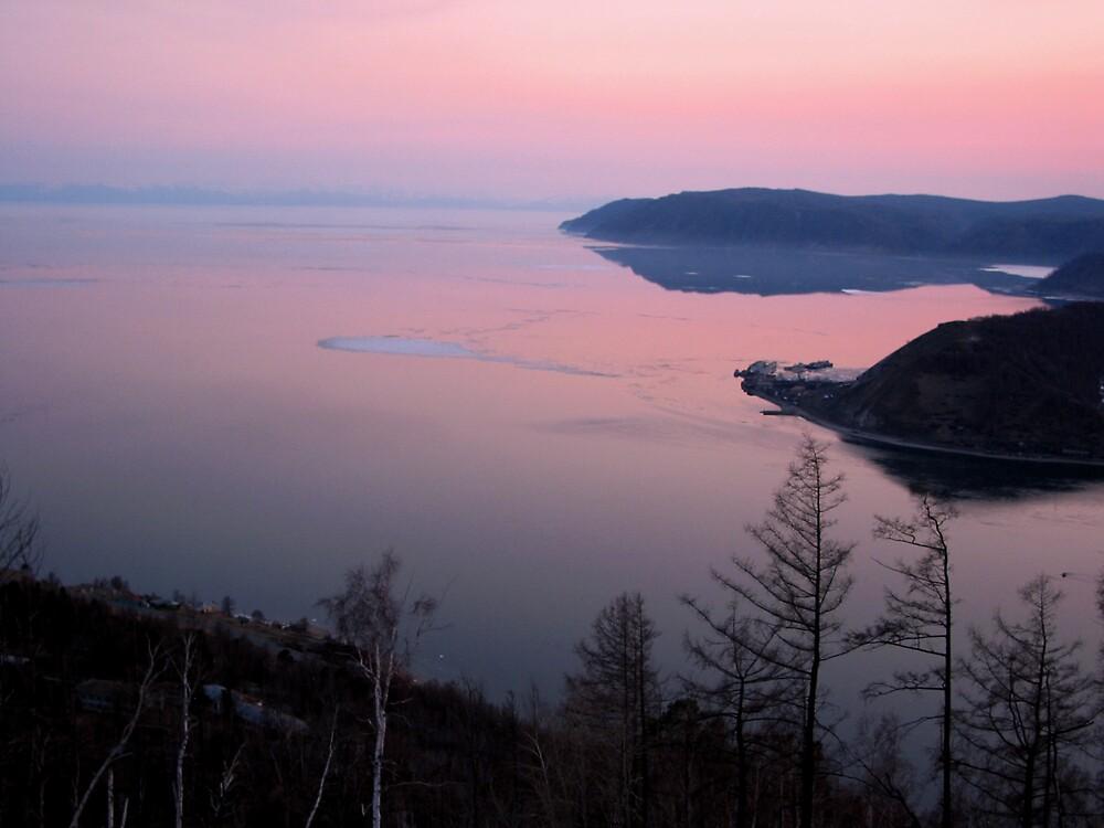 Baikal Twilight by Jeff Barnard