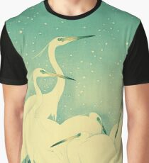 Vintage Herons Graphic T-Shirt
