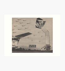 Fighter Flight Art Print