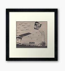 Fighter Flight Framed Print