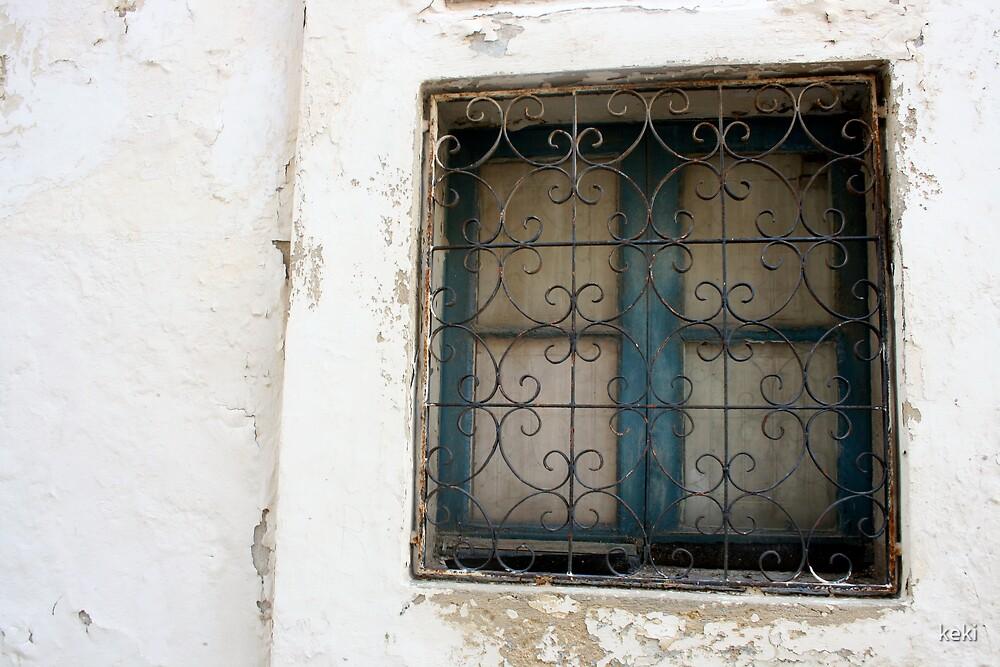 rusty window by keki