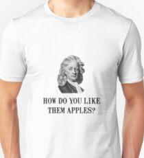 Sir Isaac Newton Apple Unisex T-Shirt
