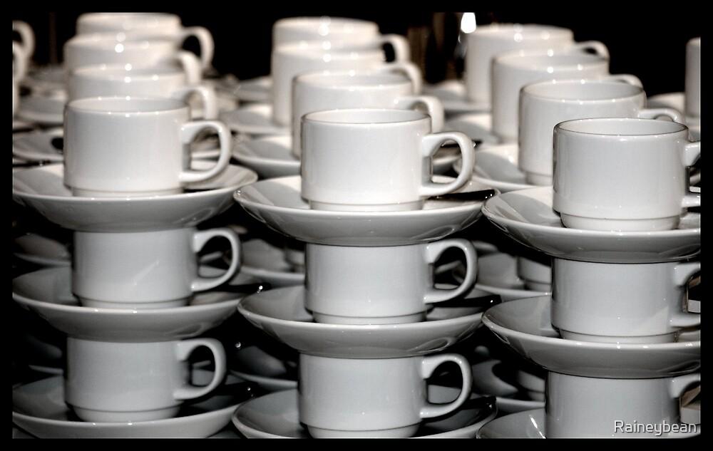Coffee Cups by Raineybean