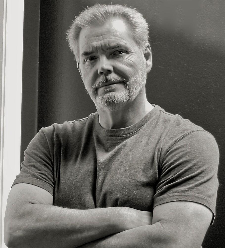 Self Portrait, 2008 by Jerry Carpenter