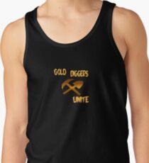 Gold Diggers Unite Tshirt Tank Top
