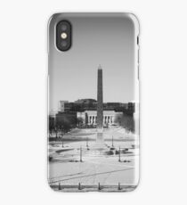 Indiana War Memorial Mall iPhone Case