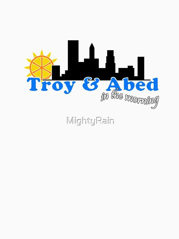 Troya y Abed por la mañana de MightyRain