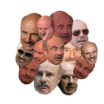 The Many Faces of Dr. Phil by sophiemonie