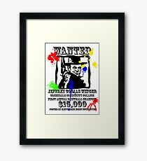 Fistful of paint Framed Print