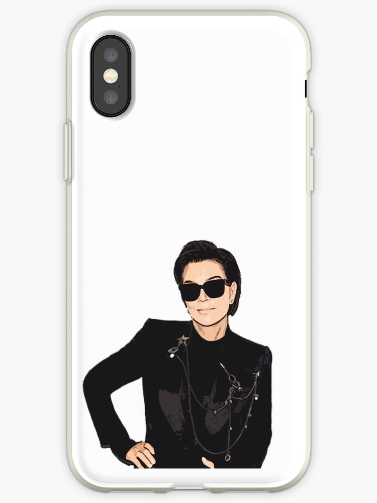 purchase cheap 378b5 b1c15 'Kris Jenner Cartoon' iPhone Case by livpaigedesigns