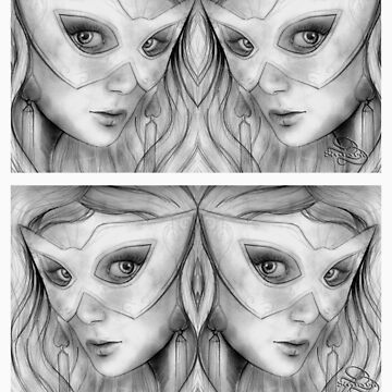 Faces - See thru you by dimarie