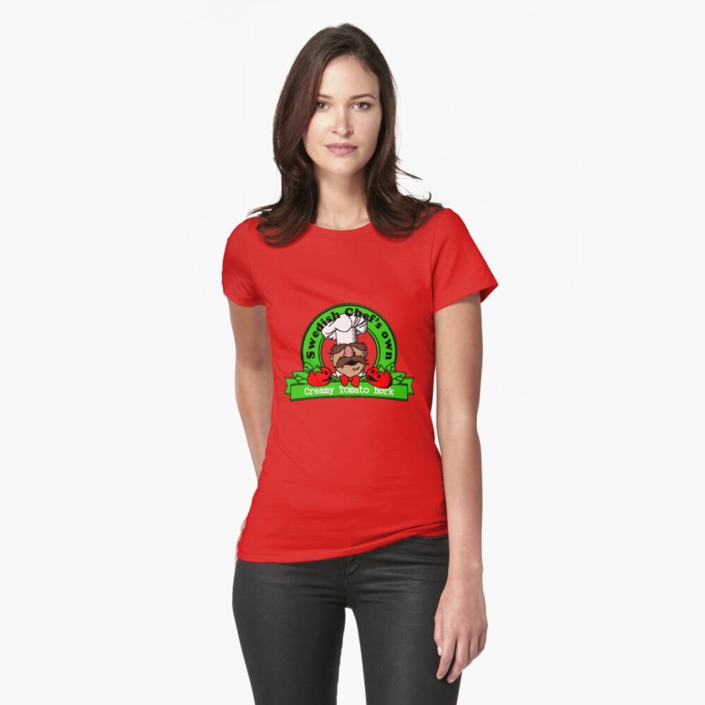 Tomato Bork Womens T-Shirt Front