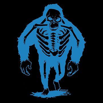 Monkey X-ray by JeremyLey